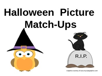 Halloween Picture Match Ups