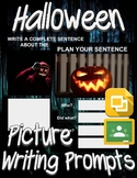 Halloween Picture Prompt Writing (Google Classroom)