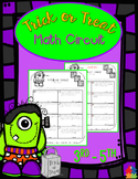 Trick or Treat Math Circuit (3rd - 5th Halloween Math)
