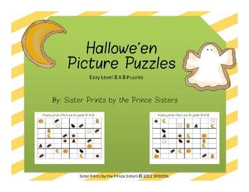 Hallowe'en Picture Puzzles 8x8