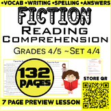 Close Reading Comprehension Passages | Fiction Writing | S