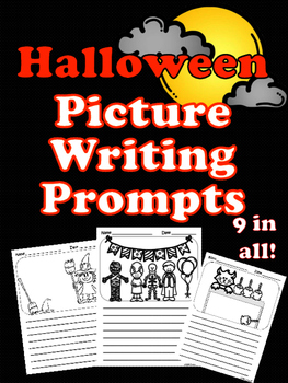Halloween Picture Writing Prompts!