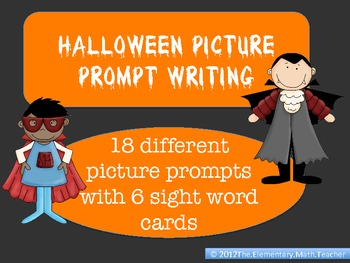 Halloween Picture Writing Prompts - 15 different options! by Kid's ...