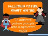 Halloween Picture Writing Prompts - 15 different options!