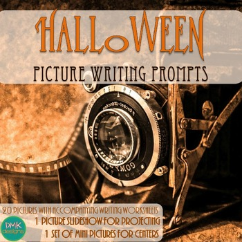 Halloween Picture Writing Prompts