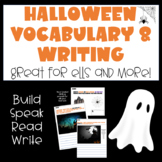 Halloween Picture and Word Cards (ELD, ESL...)