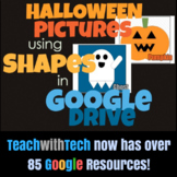 Halloween Pictures using Shapes in Google Drive