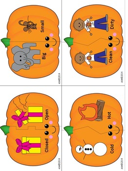 Halloween Activities Speech Therapy Book Companion