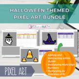Halloween Pixel Art 4th & 5th Grade Bundle