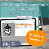 Halloween Pixel Art - Add & Subtract with 10000 Self Corre