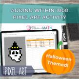 Halloween Pixel Art - Adding within 1000 Self Correcting G