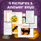 Halloween Pixel Art Mystery Pictures for Google Drive and MS Excel