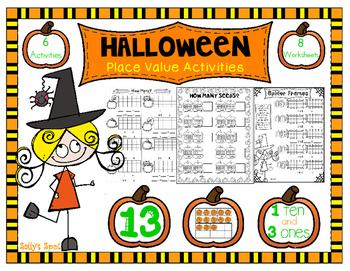 Halloween Place Value Activities