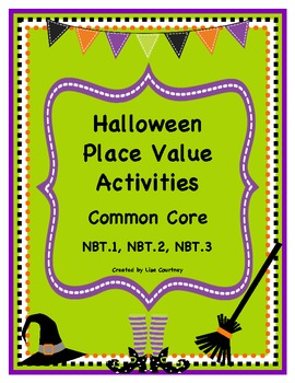 Halloween Place Value Activities for COMMON CORE Standards