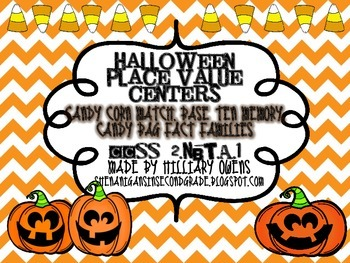 Halloween Place Value Centers