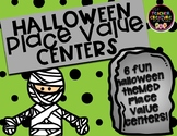 Halloween Place Value Math Centers