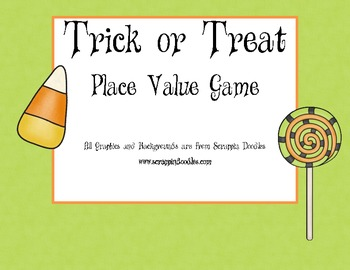 Halloween Place Value - Ones, Tens, Hundreds