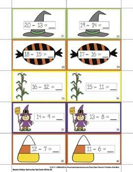 Halloween Place Value
