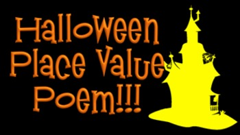 Halloween Place Value Poem- Video