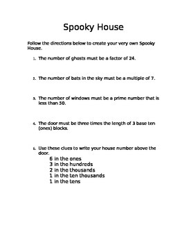 Halloween Place Value Review