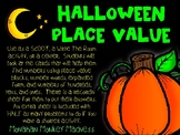 Halloween Place Value SCOOT/WRITE THE ROOM