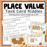 Place Value Task Cards for Second Grade