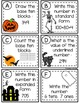 Halloween Place Value Write the Room