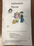 Halloween Places- Lift the Flap mini book