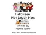 Halloween Play Dough/Play-Doh/Playdough Mats