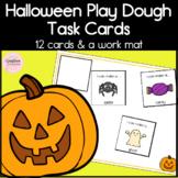 Halloween Play Dough Task Cards for Kindergarten Literacy Center