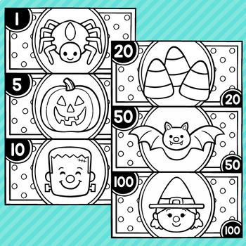 Halloween Play Money