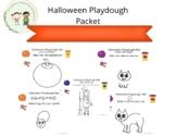 Halloween Playdough Packet