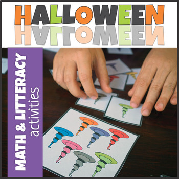 Halloween Playing Cards Flash Cards Word Cards