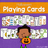 Halloween Playing Cards - Numbers 0-20