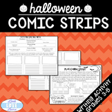 Narrative Writing Plot Comic Strips Halloween Edition