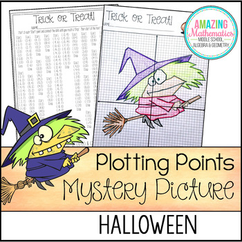 Halloween Plotting Points - Mystery Picture