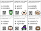 Halloween Plural Noun Task Cards