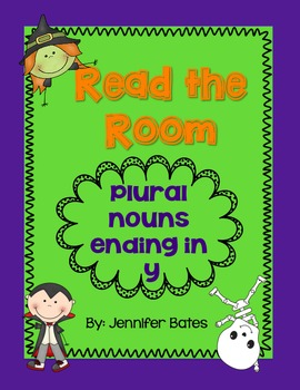 Halloween Plural Nouns Ending in Y Read the Room