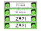 Halloween Plural Nouns ZAP!