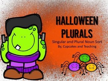 Halloween Plurals