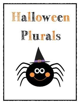 Halloween Plurals!
