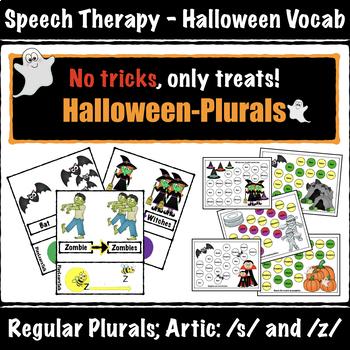 Halloween - Plurals