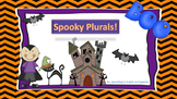 Halloween Plurals Exercise in English {FREEBIE}