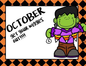 Halloween Pocket Chart Activity