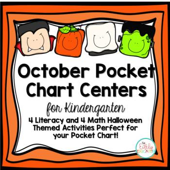 October Pocket Chart Centers