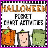 Halloween Pocket Chart Math Activities