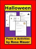 Halloween Poem Literacy Packet