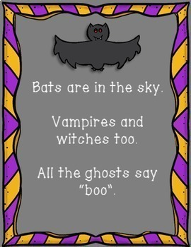 Halloween Poems Pack (+ templates)