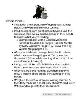 Halloween Poem - Word Choice Lesson