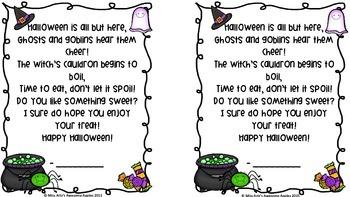 Halloween Poems - Freebie